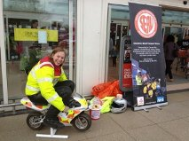Angela B-Herts fundraising for SERV May13