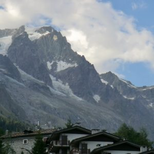 Denise Gilvear travelling in the Italian Alps 2015