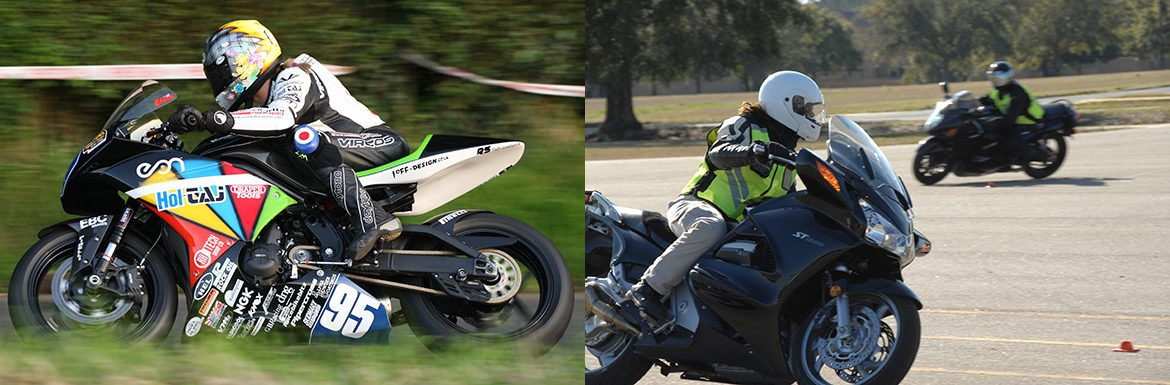 Jenny Tinmouth and National Guard Women's Motorcycle Team