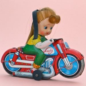 Lady biker, Haji Japan 1960's