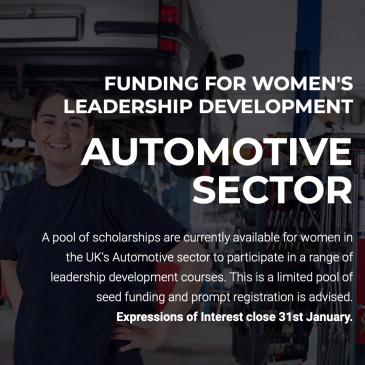 Funding for Leadership