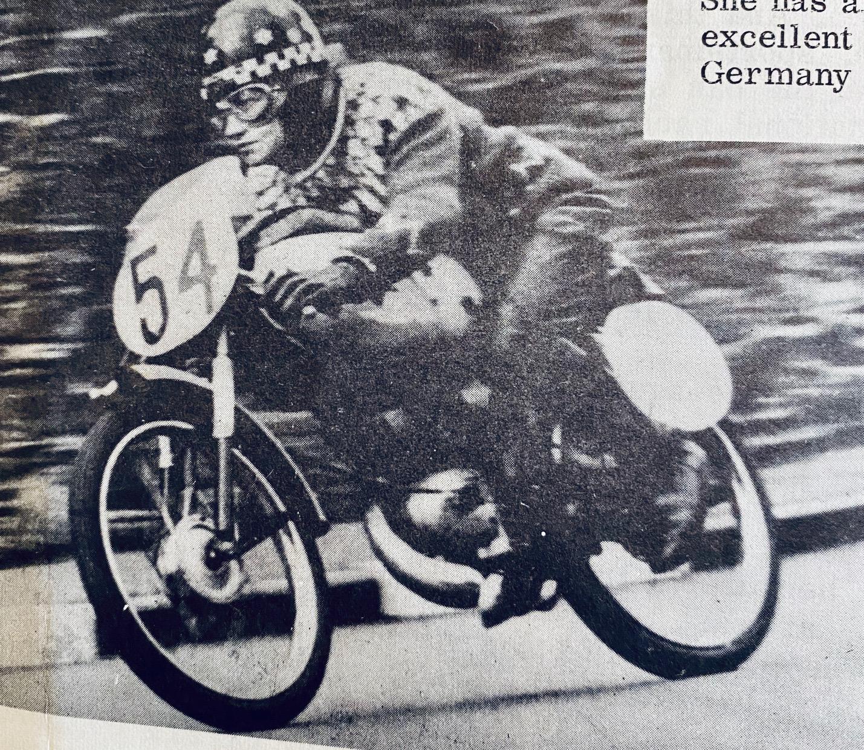 Beryl Swain_1965 TT Isle of Man